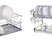 2 Tier Dish Rack with Tray - Affordable and Stylish for Your Kitchen - Tackk