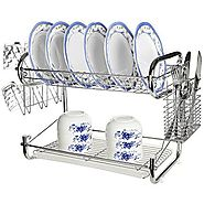 Best 2 Tier Dish Rack with Tray -Ratings & Reviews Powered by RebelMouse