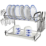 Best 2 Tier Dish Rack with Tray -Ratings & Reviews