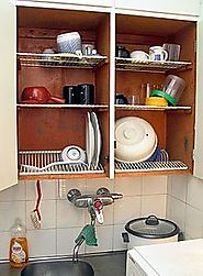Dish draining closet - Wikipedia, the free encyclopedia