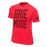 "Official WWE Authentic Unisex Brie Bella ""Brie Mode"" Youth T-Shirt Small Red"