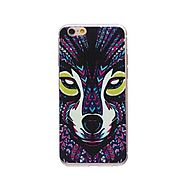 Aztec Wolf Ultra-thin TPU Back Case - Multicolor @ 349.0000 Online in India