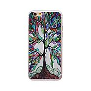Aztec Tree Ultra-thin TPU Back Case - Multicolor @ 349.0000 Online in India