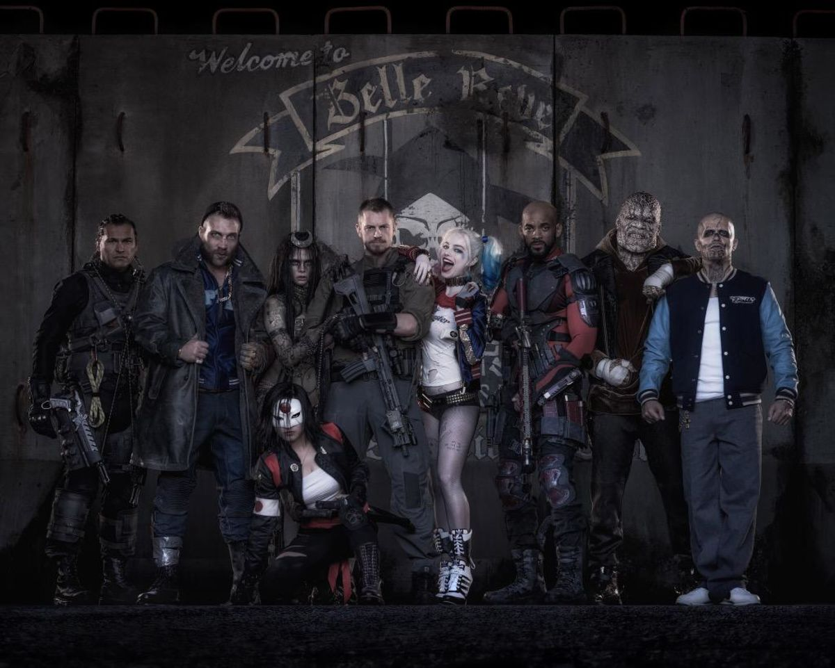 Headline for Suicide Squad Actors and their Characters
