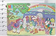 Vintage 1985 My Little Pony Dress Up Party 100 Piece Puzzle