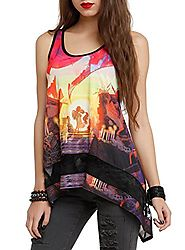 The Book Of Life Love Scene Girls Tank Top Size : Medium