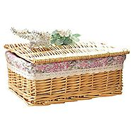 Cute Small Wicker Baskets With Lids Powered by RebelMouse