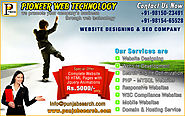 web development in ludhiana punjab india