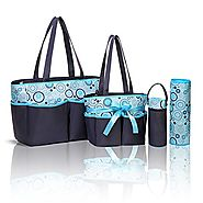 Baby Diaper Bag with Changing Pad and Organizer for Boys or Girls