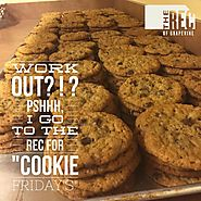 Grapevine Parks & Recreation has fun with Cookie Fridays.