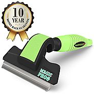 One Of The Best Deshedding Tools To Easily Remove Shed Dog Hair - 60% Off Retail Price - The Magic Pro Dog Deshedding...
