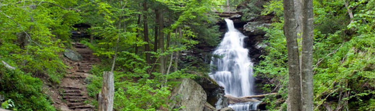 Headline for 5 Great hiking trails and Rock climbing trails in PA