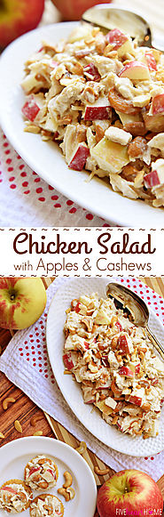 Chicken Salad with Apples & Cashews