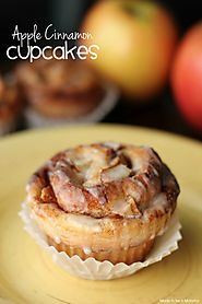 Apple Cinnamon Cupcakes - Made To Be A Momma