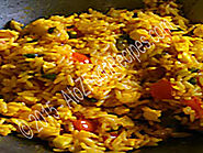 Indian Veg Fried Rice - A to Z Food Recipes