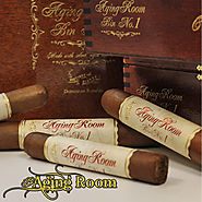 Aging Room Bin No. 1 by Mikes Cigars