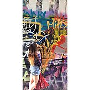 tessamay_x #rainbow #graffiti 🌈 #city#adventures - Street I Am