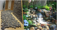 Home Decorating Ideas with Rock and Pebbles