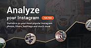 Free instagram stats and analytics from Socialbakers