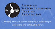 American Speech-Language-Hearing Association | ASHA
