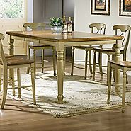 Beautiful Counter Height Dining Tables With Butterfly Leaf