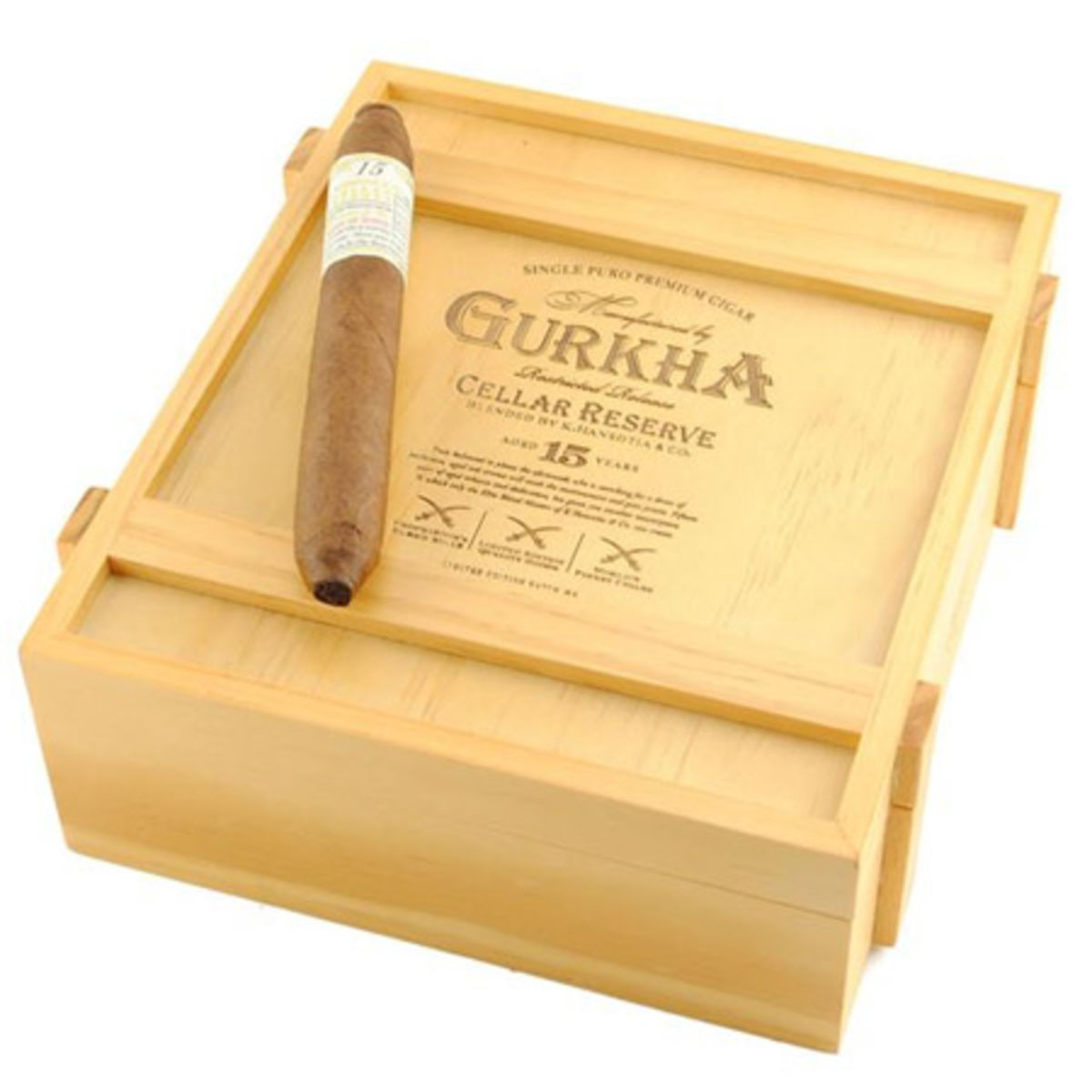 Headline for List of Luxury Gurkha Cigars Offered By Mike's Cigars