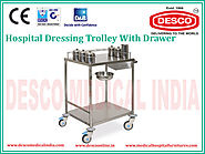 Dressing Trolleys with Drawer Manufacturers and Suppliers India