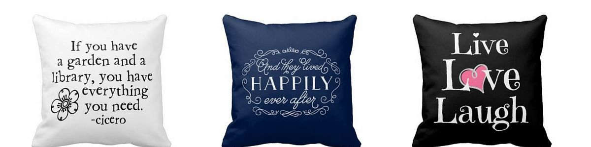 Headline for Decorative Throw Pillows With Quotes And Sayings