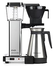 Moccamaster KBGT 10-Cup Coffee Brewer with Thermal Carafe