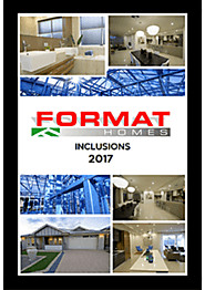 New Home Building Brochures - Format Homes