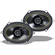 Kicker 07DS680 6-Inch X 8-Inch 152mm X 203mm Coax Speakers (Pair)