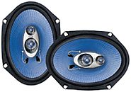 Pyle PL683BL 6 x 8-Inch 360-Watt 3-Way Speakers