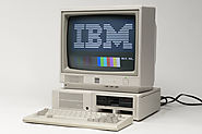 First IBM personal computer