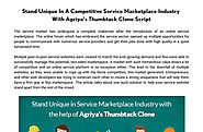'Thumbtack Clone to Stand unique in Service Marketplace Industry' by Agriya | Readymag