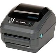 "Zebra GK42-202511-000 GK420D Direct Thermal Printer, Monochrome, 6"" H x 6.75"" W x 8.25"" D, With USB, Serial, and Para..."