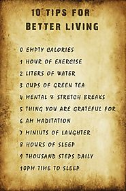 10 Healthiest things you should do to be healthy