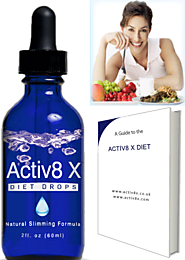 Can Activ8 X Diet Drops Help You Lose Weight?