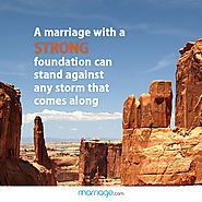 A marriage with Strong Foundation