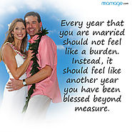 Feel Every Year of Your Marriage Blessed Beyond Measure.