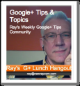 Your Google Plus Tip of the Week