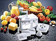 Müeller Spiral-Ultra 4-Blade Spiralizer, 8 in 1 Spiral Slicer, Heavy Duty Vegetable Pasta Maker and Mandoline Slicer ...