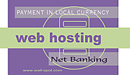 Looking for INDIAN web hosting to pay in rupees - Wall-Spot