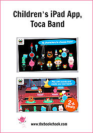 Children's iPad App, Toca Band