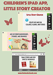 Children's iPad App, Little Story Creator