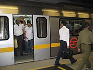Man who shot himself at Delhi metro station held