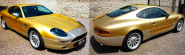 The Almost Entirely Gold Leafed Aston Martin