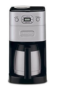 Cuisinart DGB-650BC Grind-and-Brew Thermal 10-Cup Automatic Coffeemaker, Brushed Metal