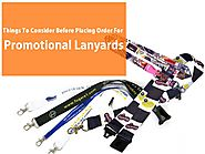 Things To Consider Before Placing Order For Promotional Lanyards - Ribbonworks Lanyards