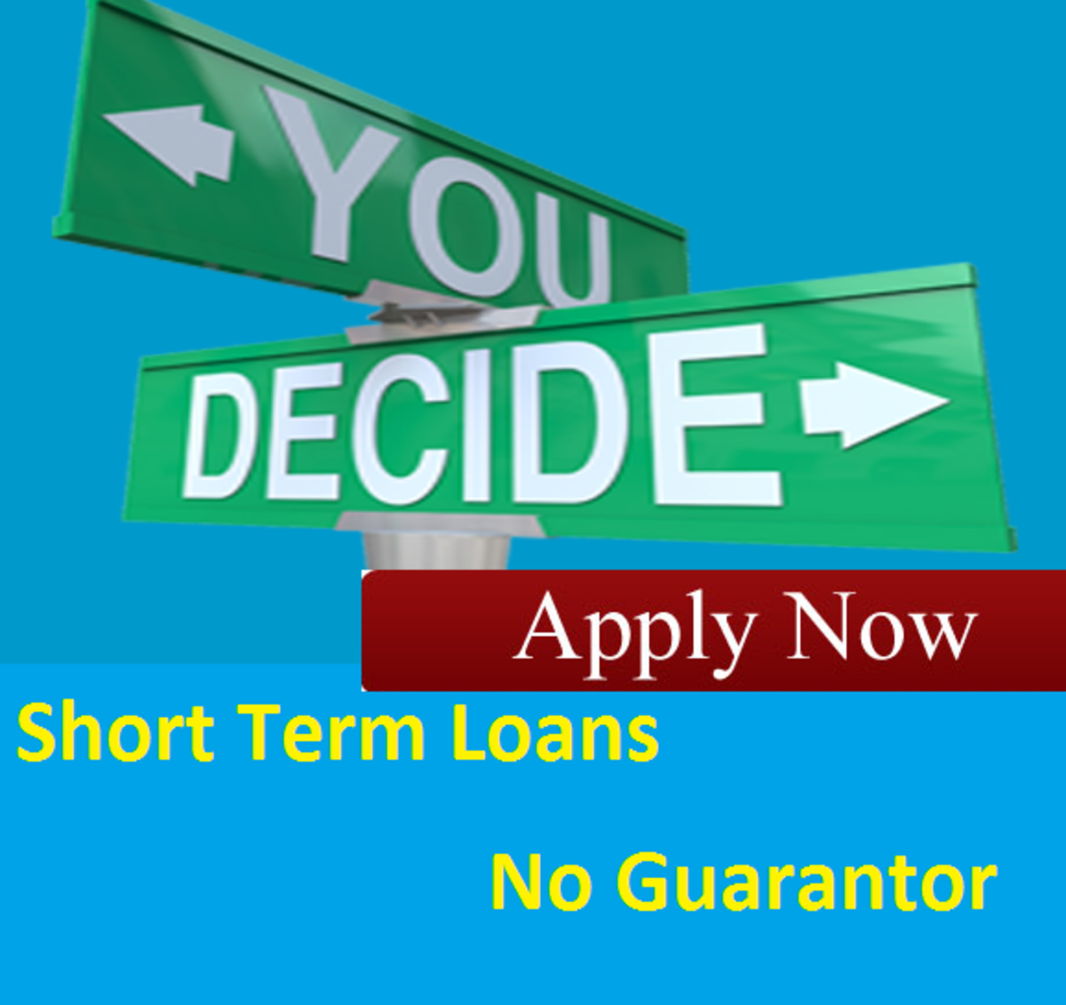 Headline for Short Term Loans No Guarantor