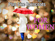 Raincoats For Plus Size Women Up To Size 34 Plus